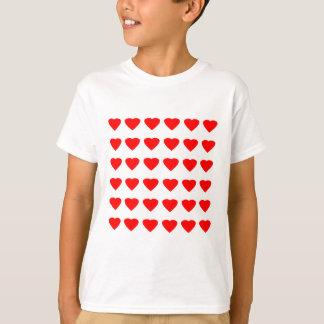 私のバレンタインのハート36Red TranspのjGibneyがあって下さい Tシャツ