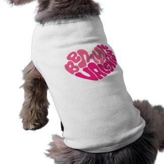 私のバレンタインの小犬のワイシャツがあって下さい ペット服