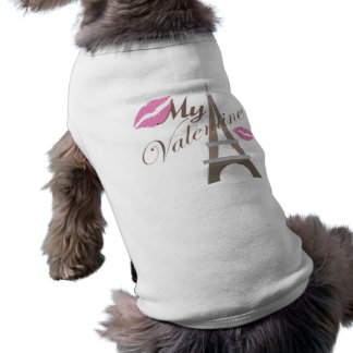 私のバレンタイン-エッフェル塔および唇 ペット服