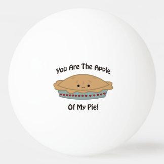 私のパイのApple 卓球ボール