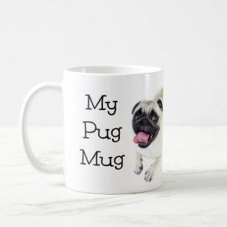 私のパグのマグ コーヒーマグカップ