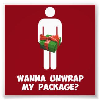 私のパッケージを開けたいと思って下さいか。 フォトプリント
