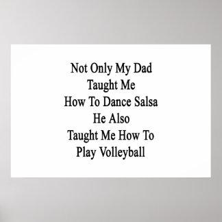 私のパパだけ私にサルサを踊る方法を彼Al教えました ポスター