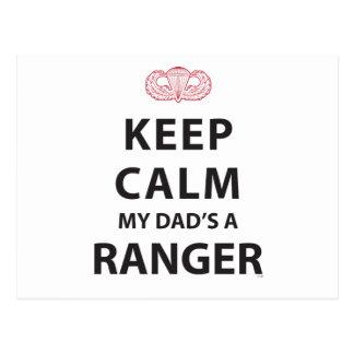 私のパパによってがレーンジャーである平静を保って下さい ポストカード