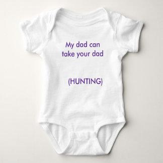 私のパパはあなたのパパ(狩り   )に1を取ることができます ベビーボディスーツ