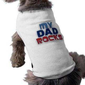 私のパパはペットTシャツを揺すります ペット服