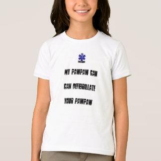私のパパイヤはDefibrillateあなたのパパイヤできます Tシャツ