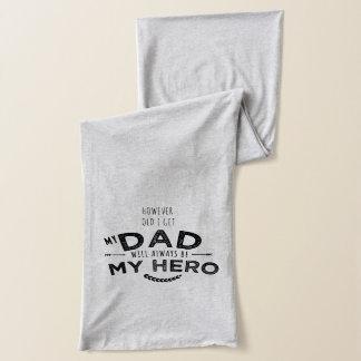 私のパパ私の英雄 スカーフ
