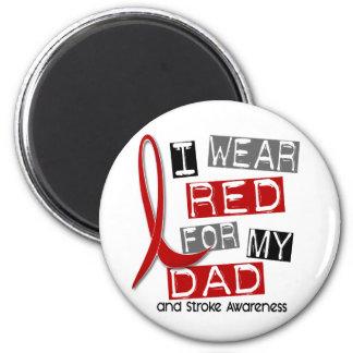 私のパパ37のための打撃Iの衣服の赤 マグネット