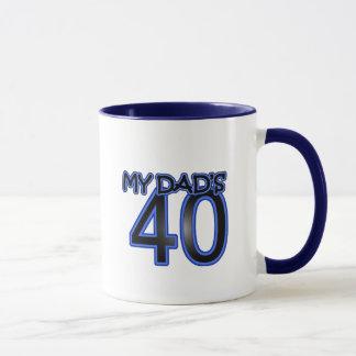 私のパパ40 マグカップ