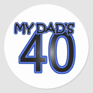 私のパパ40 ラウンドシール
