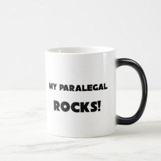 私のパラリーガルの石! マジックマグカップ