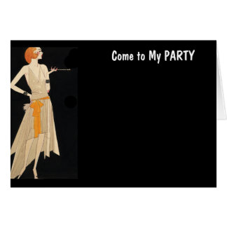 """私のパーティーに""""来られるあなた専有物を""""カード作成して下さい カード"""