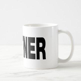 私のパートナー コーヒーマグカップ
