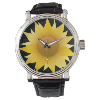 私のヒマワリです 腕時計