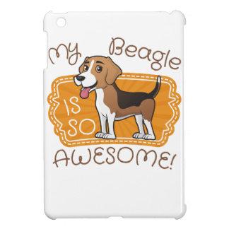 私のビーグル犬はとても素晴らしいです iPad MINI CASE