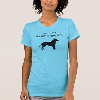 私のピット(淡いブルー) Tシャツ