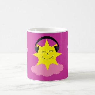 私のピンクの雲の回復マグのLovinの生命 コーヒーマグカップ