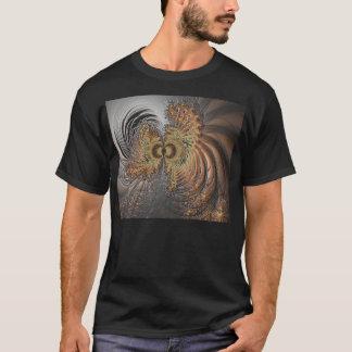 私のフラクタルの精神 Tシャツ