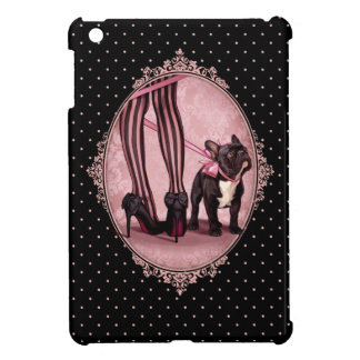 私のフレンチ・ブルドッグ iPad MINIケース