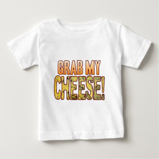 私のブルーチーズをつかんで下さい ベビーTシャツ