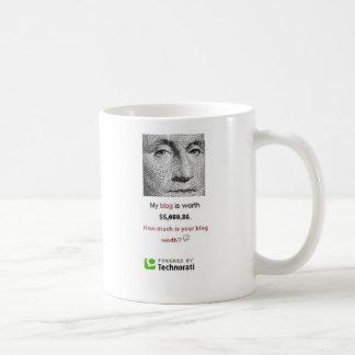 私のブログは価値です コーヒーマグカップ