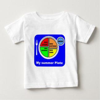 私のプレート ベビーTシャツ