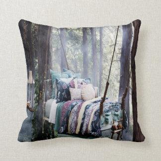 私のベッドのための枕 クッション