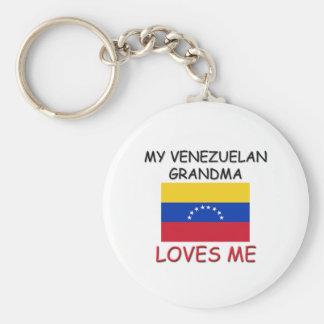 私のベネズエラ人の祖母は私を愛します キーホルダー