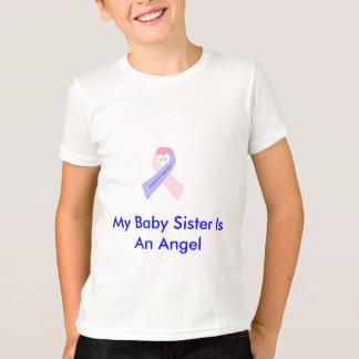 私のベビーの姉妹は天使です Tシャツ