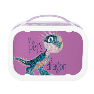 私のペットのドラゴン ランチボックス