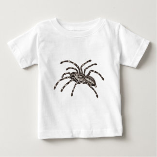 私のペットタランチュラのステッカー ベビーTシャツ