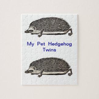 私のペットハリネズミ- 1つを得るべきです ジグソーパズル