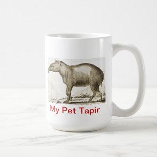 私のペットバク-マグ コーヒーマグカップ