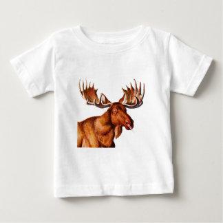 私のペットMOOSEHEAD ベビーTシャツ