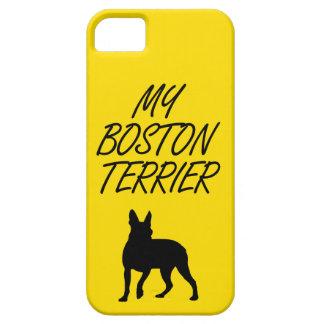 私のボストンテリアのiPhoneの場合 iPhone SE/5/5s ケース
