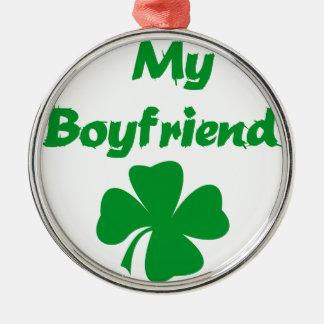 私のボーイフレンドのアイルランド語 メタルオーナメント