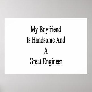 私のボーイフレンドはハンサム、すばらしいエンジニアです ポスター