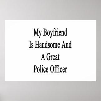 私のボーイフレンドはハンサム、素晴らしい警察署です ポスター
