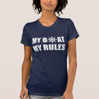 私のボート私の規則 Tシャツ
