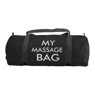 私のマッサージのバッグ- DUFFLEバッグ ジムバッグ
