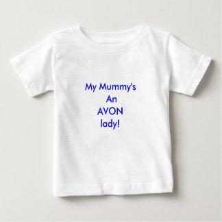 私のミイラのAVONの女性! ベビーTシャツ