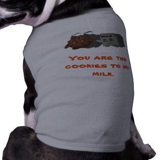 私のミルクへのクッキー ペット服