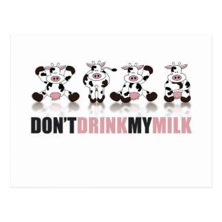 私のミルクを飲まないで下さい ポストカード
