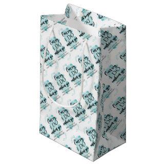 私のメイド・オブ・オーナー(花嫁付き添い人)の質問カードです スモールペーパーバッグ
