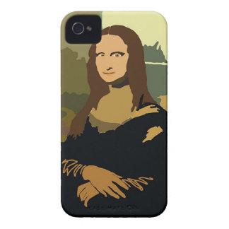 私のモナ・リザ Case-Mate iPhone 4 ケース