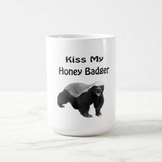 私のラーテルに接吻して下さい コーヒーマグカップ