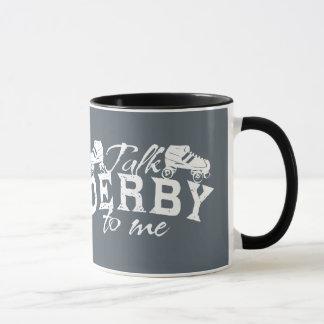 私のローラーダービーへの話ダービー マグカップ