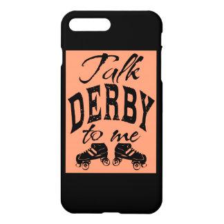私のローラーダービーへの話ダービー iPhone 8 PLUS/7 PLUSケース
