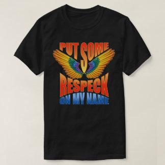 私の一流のBirdmanにRespeckを置いて下さい Tシャツ